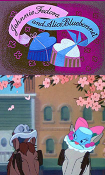 Johnny Fedora & Alice Blue Bonnet