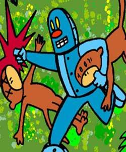 Monkey vs Robot 1999