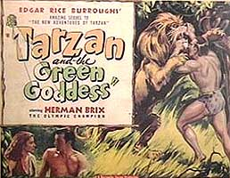 Tarzan &amp the Green Goddess