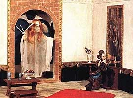 Archangel Gabriel &amp Lady Goose